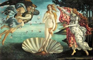 Botticelli's 'La Naissance de Venus.'