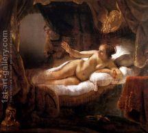 Danae 1636-47 - Rembrandt Van Rijn