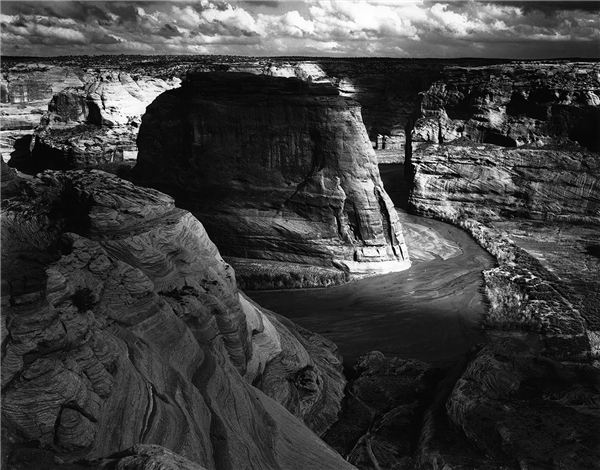 Canyon de Chelly, Arizona. Ansel Adams